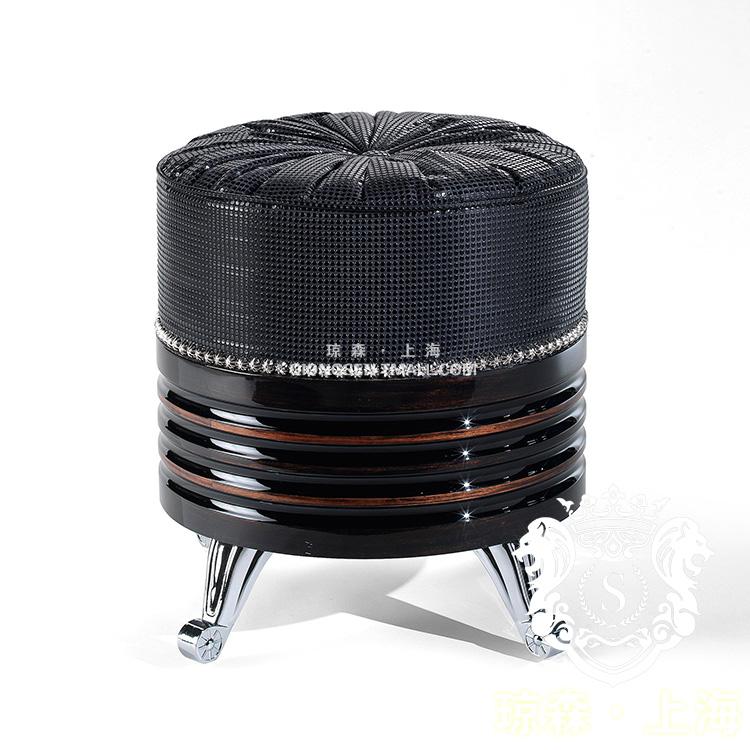 琼森黑色梳妆矮凳12X001 (46)