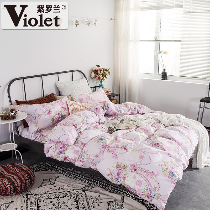 紫罗兰床单被套dssdqws