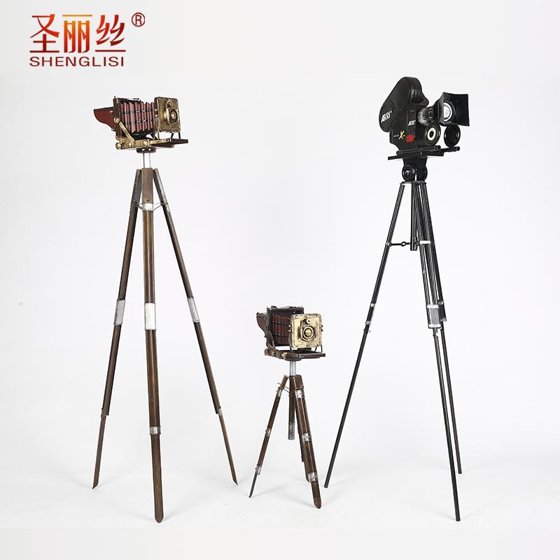 复古铁艺照相机模型摆件家居饰品 创意 个性橱窗陈列道具摆拍道具