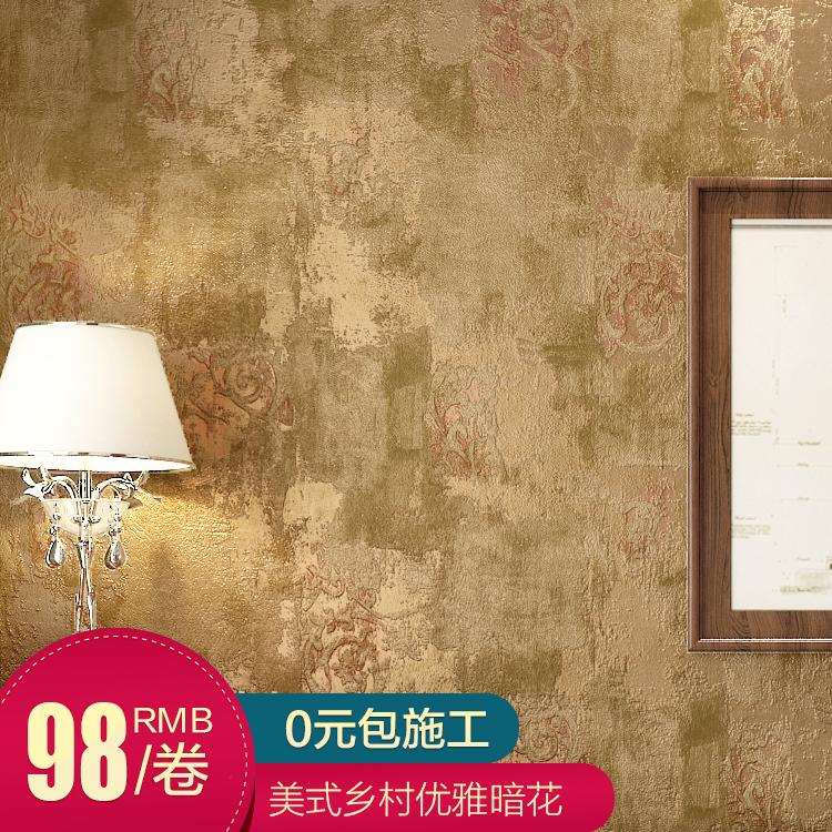 新巢美式复古无纺布墙纸63-0105