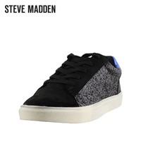 秋冬新款Steve Madden思美登做旧拼色运动平底单鞋女-SWEXXTRAA
