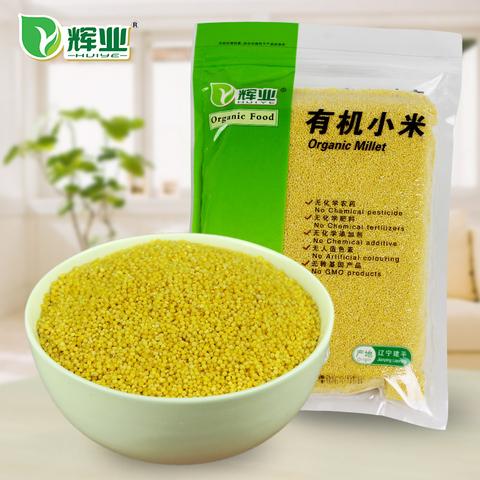 辉业 有机黄小米 新米 1000g