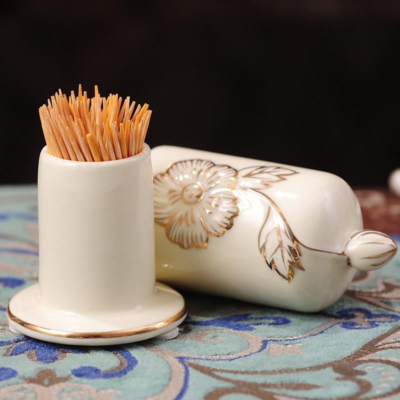 英伦欧堡牙签筒创意家居茶几YC-824