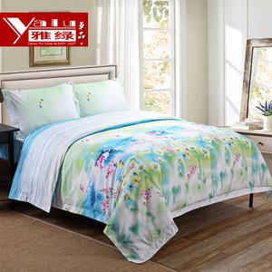 雅绿新款被套单品印花夏季床罩