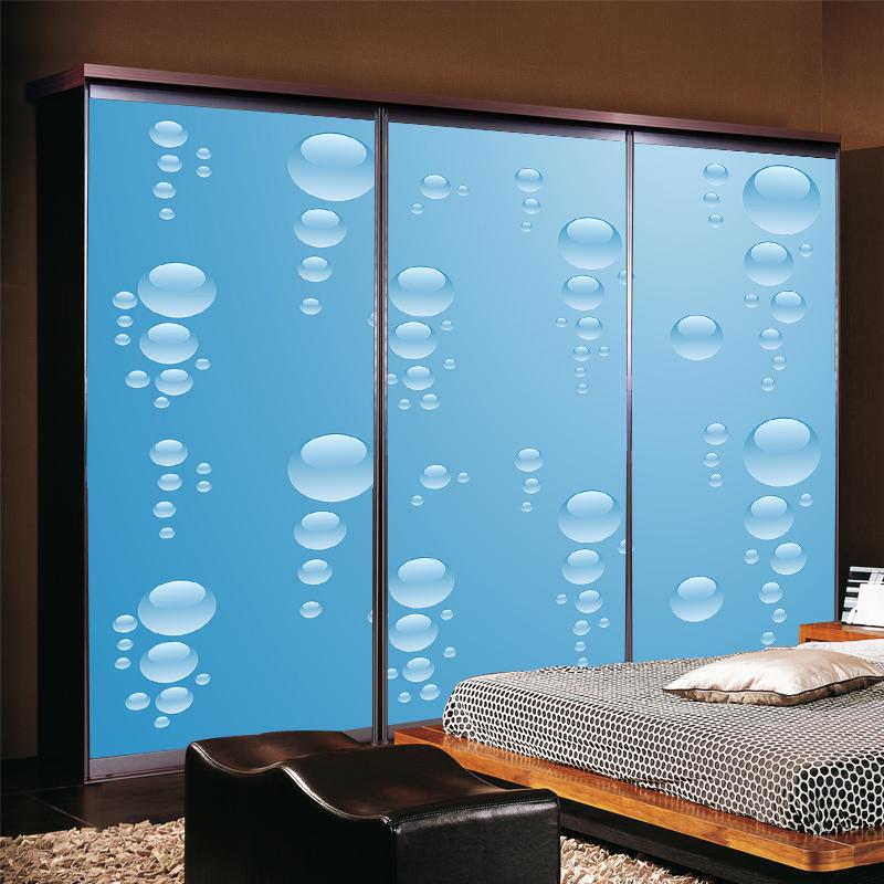 MS静电贴窗花纸不透明贴花玻璃纸
