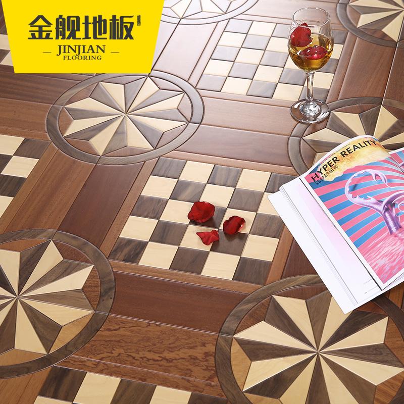 金舰实木复合地板p8229