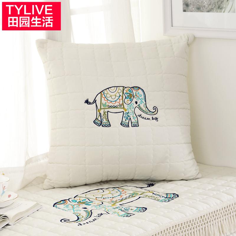 田园生活沙发抱枕抱枕套#s