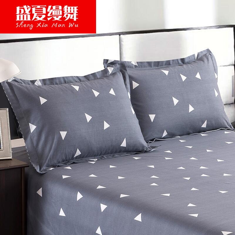 盛夏缦舞全棉单人枕套SXMW16122801