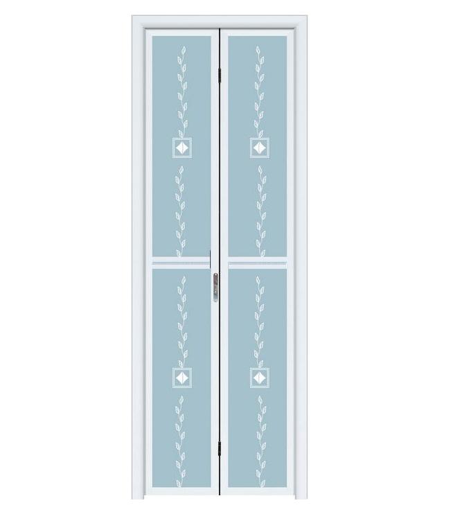 深宇门业钢化玻璃门门小折叠sf046