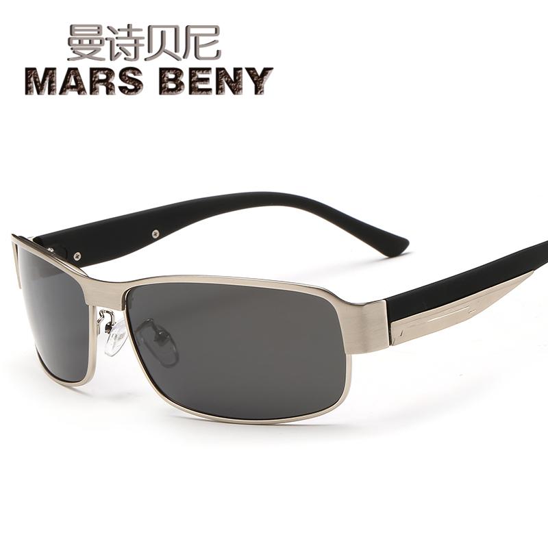 新款男士时尚内镀膜太阳镜男潮人墨镜驾驶太阳眼镜男司机偏光镜