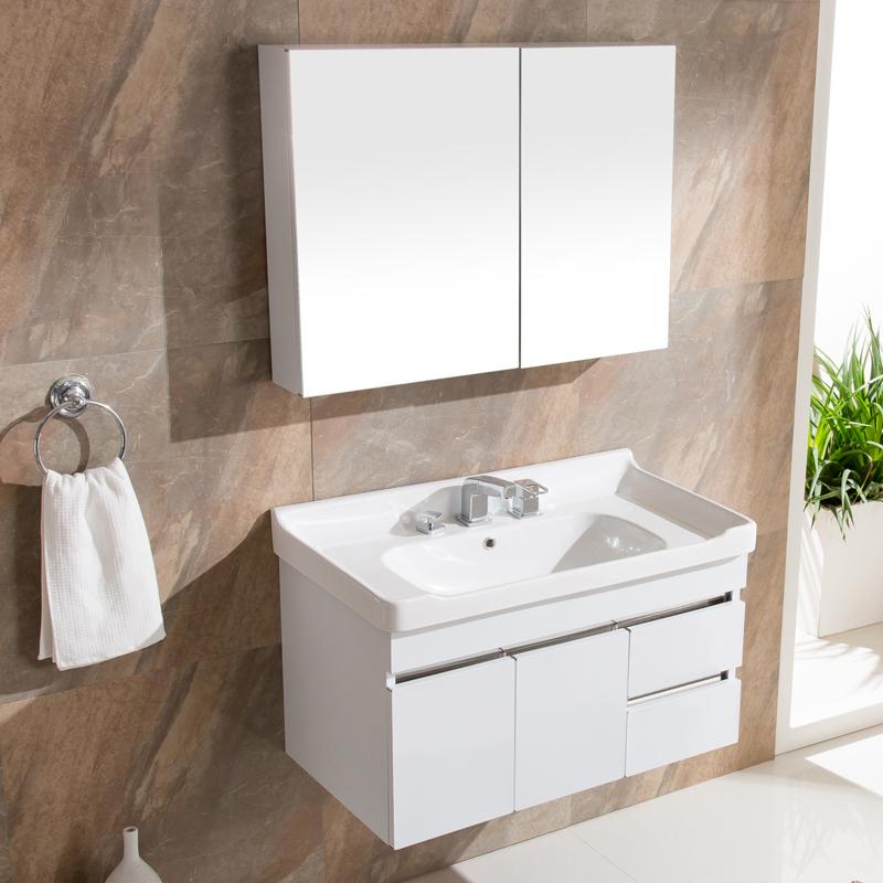 欧尔勒不锈钢柜洗脸池洗手盆E07
