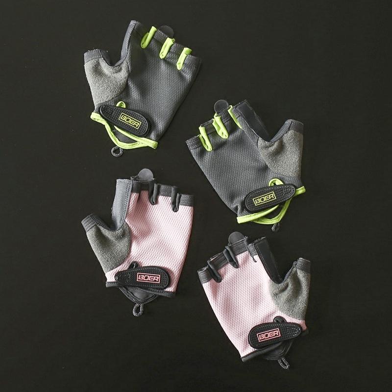 器械健身手套运动手套男女防滑半指训练单车瑜伽健身房哑铃护手掌