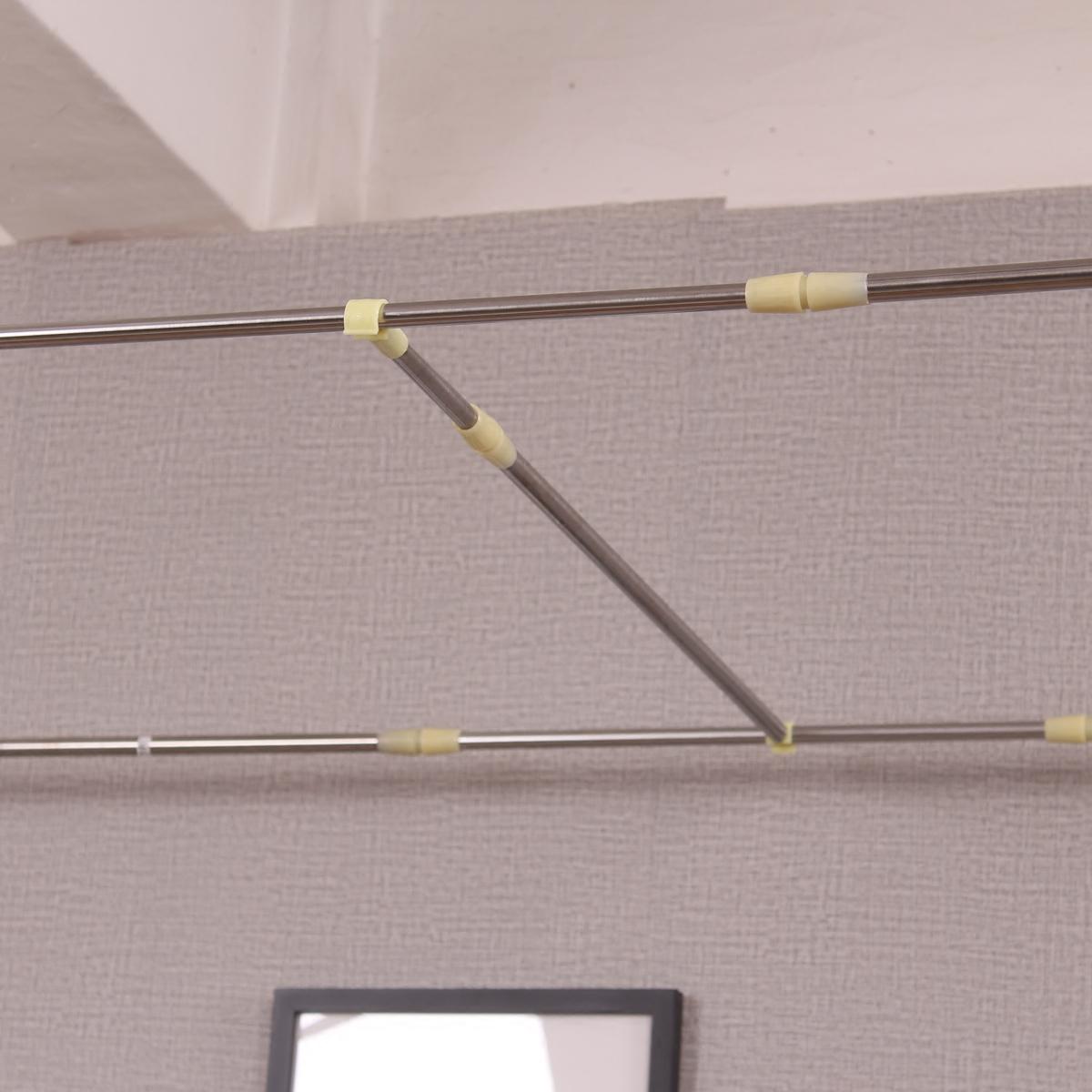 学生宿舍蚊帐/床帘支架单人床寝室上下铺不锈钢杆子