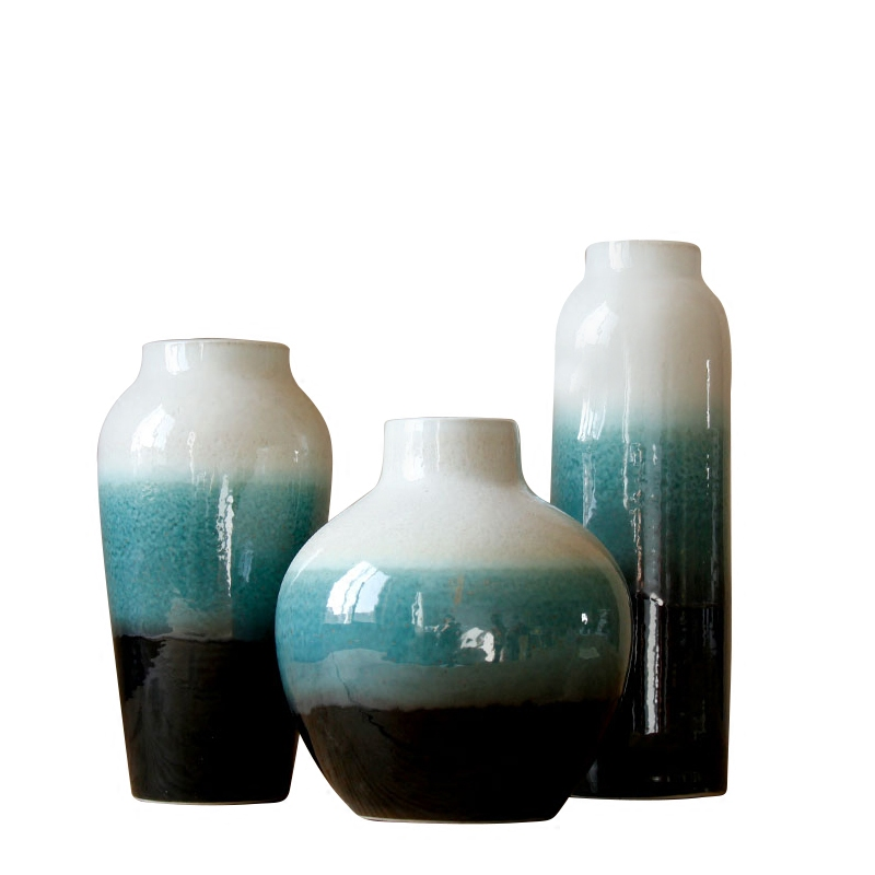 Jingdezhen ceramic manual variable flower ceramic water raise household act the role ofing is tasted furnishing articles ceramic vases, flower arranging flowers