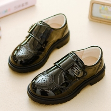 Children's leather shoes Happy Yellow Duck