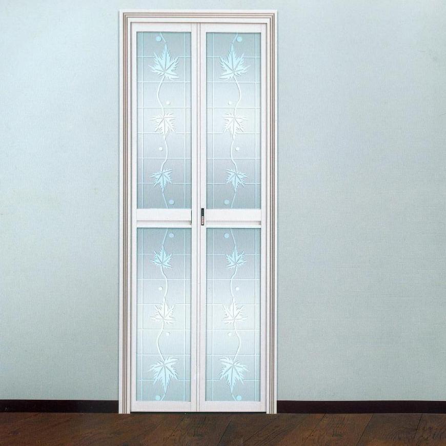 深宇门业硅镁铝合金钢化玻璃门sf049