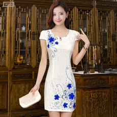 Cheongsam dress 6573