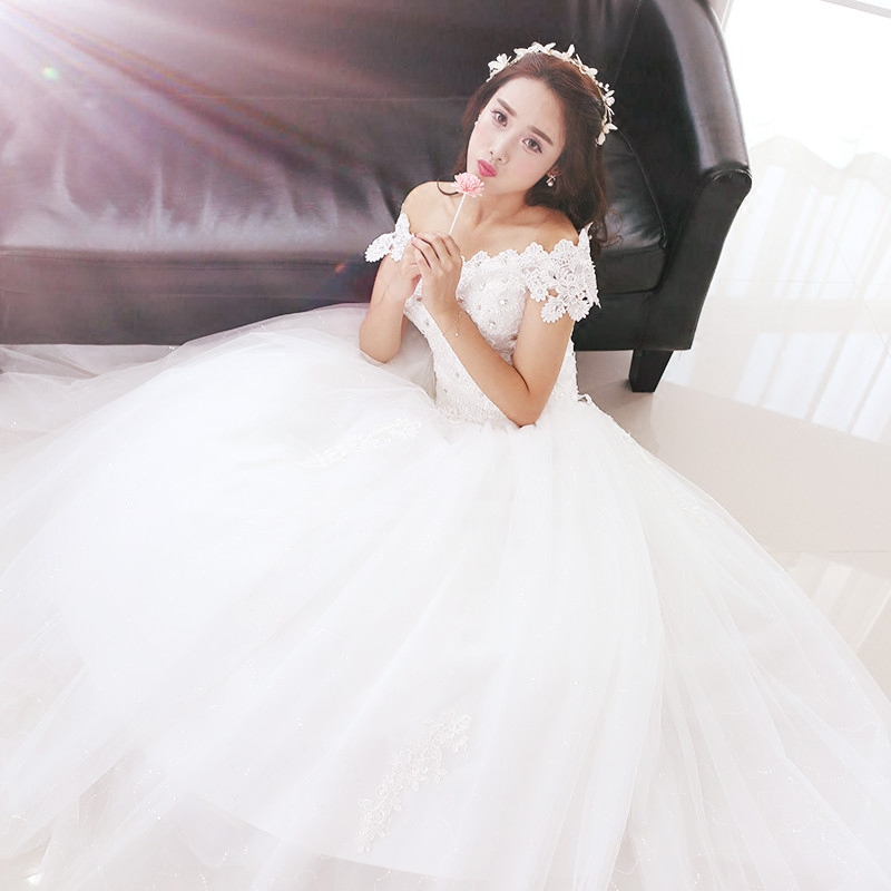 Wedding dress h1701 2016