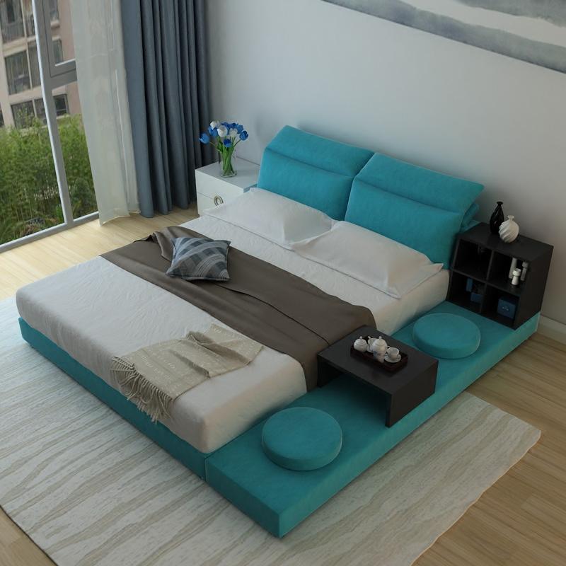 装典美家韩式双人床BM171