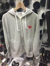 Full Zip Hooded Sweatshirt Rei Kawakubo