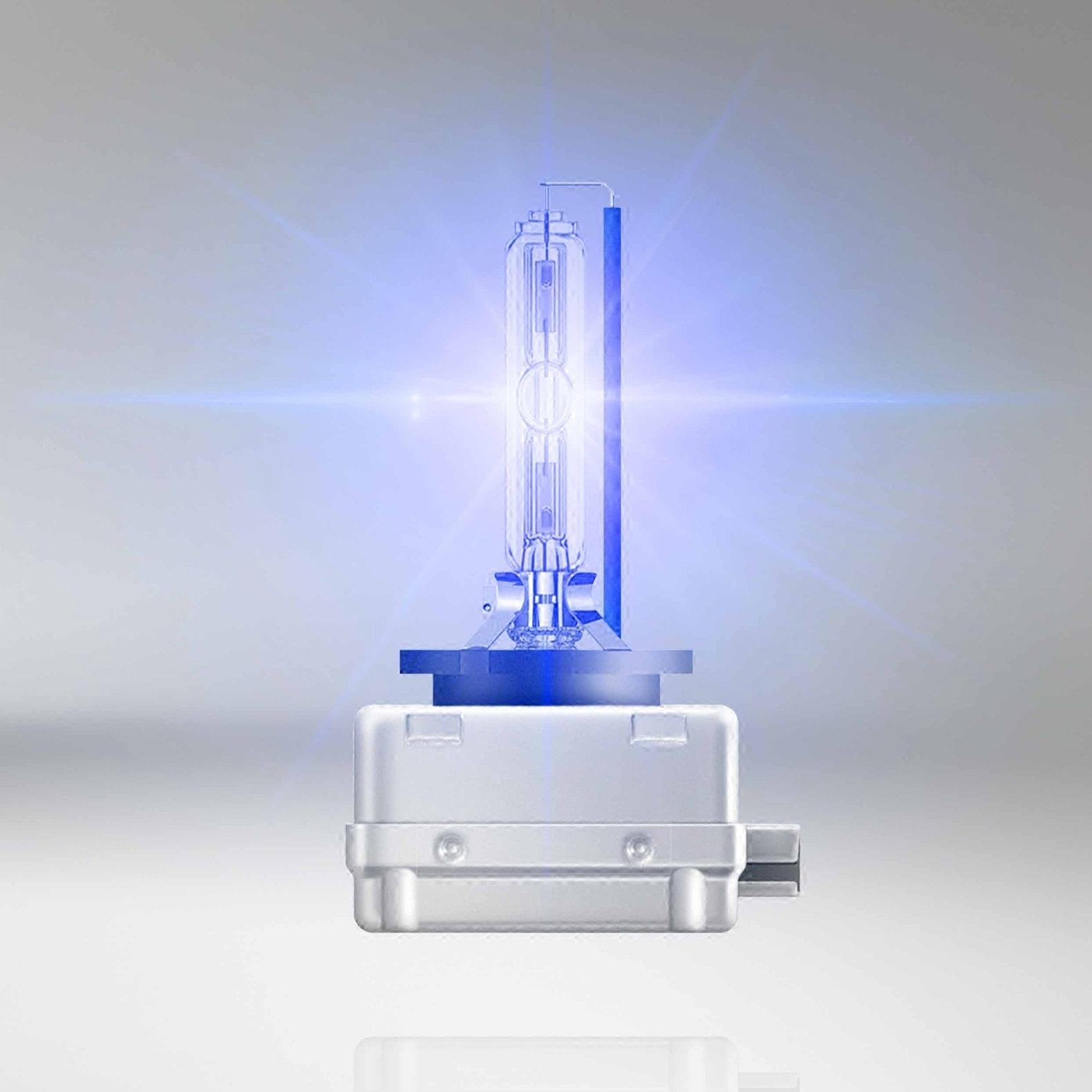 欧司朗氙气灯泡D1S D2S D3S D4S CBA系列6000K 增亮超亮疝气灯