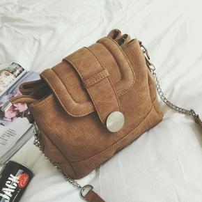 包包2016秋季新款欧美时尚斜挎包蜥蜴纹医生包单肩锁扣水桶包女包