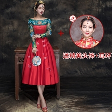 Cheongsam dress Bin Shuo binshuo/070 2017