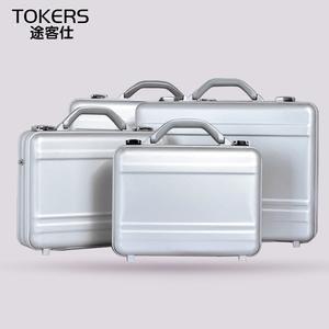 铝镁合金公文箱包时尚手提箱商务密码箱多功能工具箱装钱金属箱子