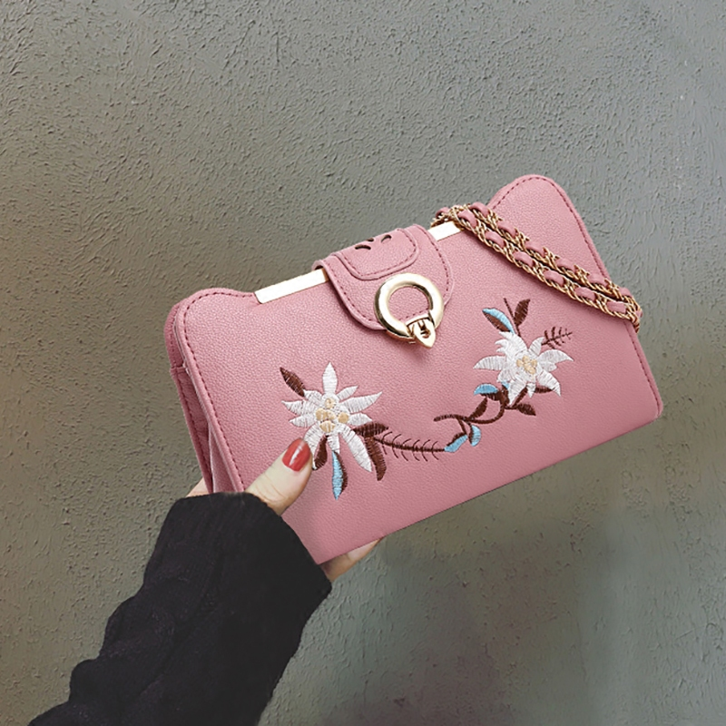 Bag female 2018 new tide Korean version of the wild messenger bag chain bag small autumn and winter handbags shoulder bag personalized fashion