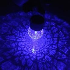 Декоративный светильник Гранулы льда трещины солнечного