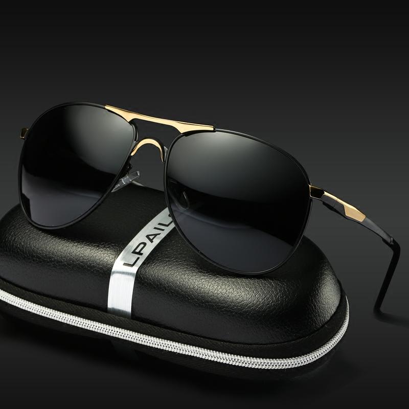 新款太阳镜男眼睛司机镜偏光镜开车驾驶眼镜高清女男士墨镜蛤蟆镜