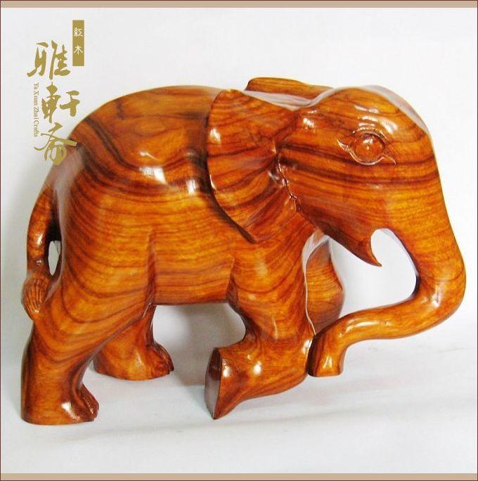 常用于雕刻生肖造型,与常用红木工艺木材相比,此种工艺木材雕刻