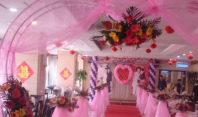 for Different types of wedding decorations