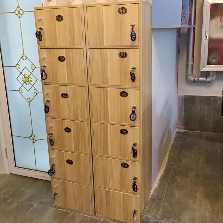 顾客存包柜美发店健身房学校班级教室学生用柜子储物柜带锁收纳柜