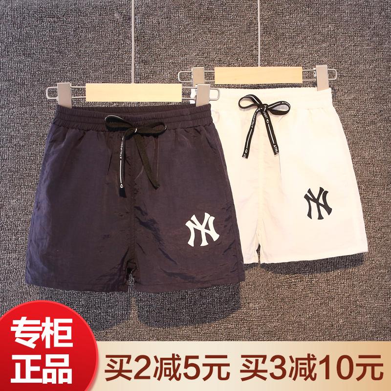 男童短裤夏季薄款速干裤子中大儿童休闲五分裤沙滩裤外穿运动中裤