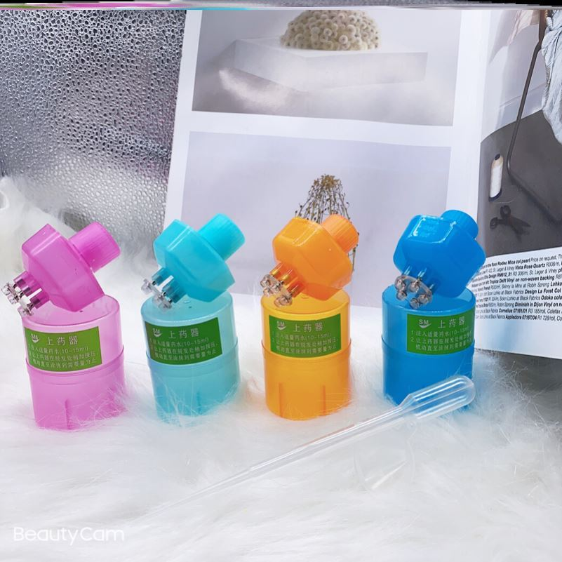 生发液上药梳锥形套盒产品仪器加液手动耐用节省漏斗导入营养液刷