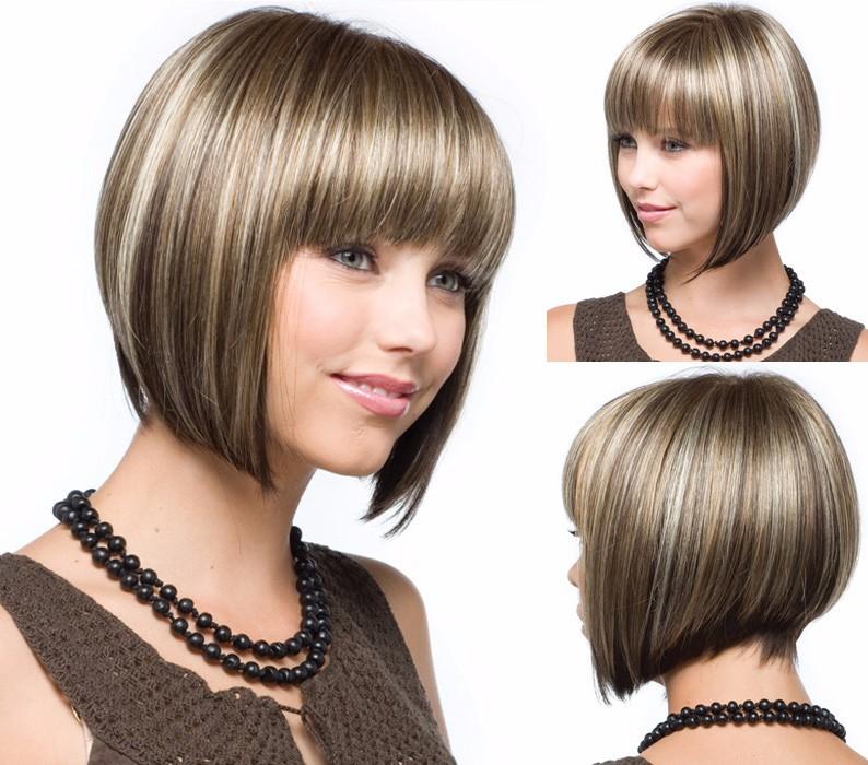 时尚短发 女式欧美流行发型BOBO头 wig发型速卖通ebay假发批发