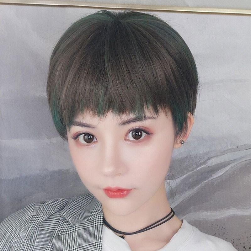 女生中性假发女短发酷 帅气假小子假发潮流头发2020发型女流行