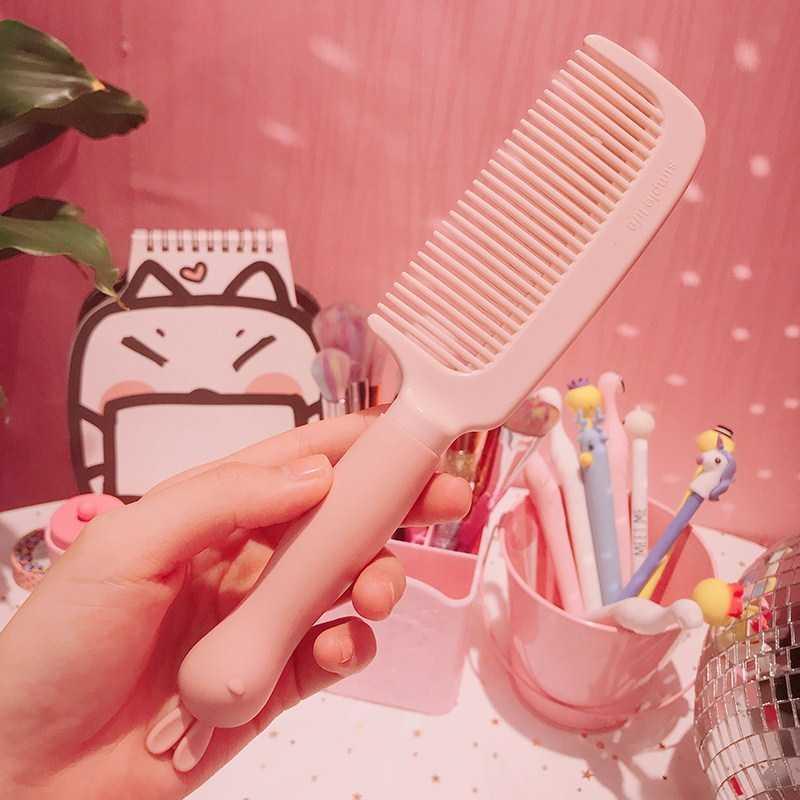 2021大e发型头部师儿童家用女孩创意学生长塑料梳子长发子女大号