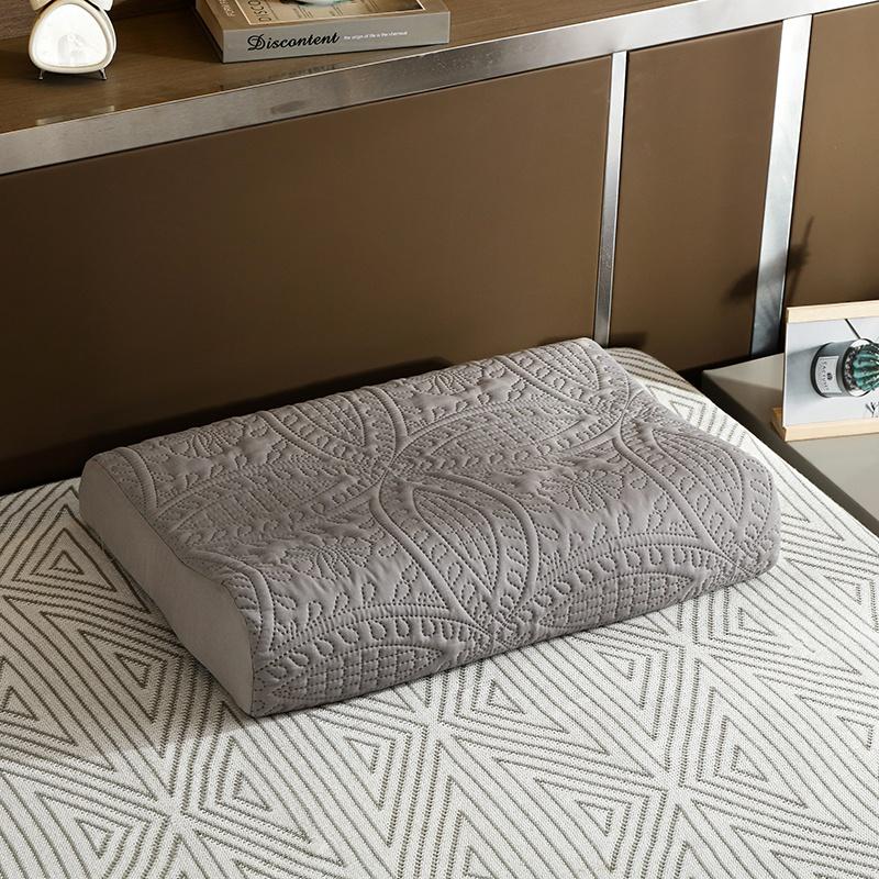 乳胶枕套防止枕芯发黄加厚记忆枕头套60x40全棉男女儿童学生50X30