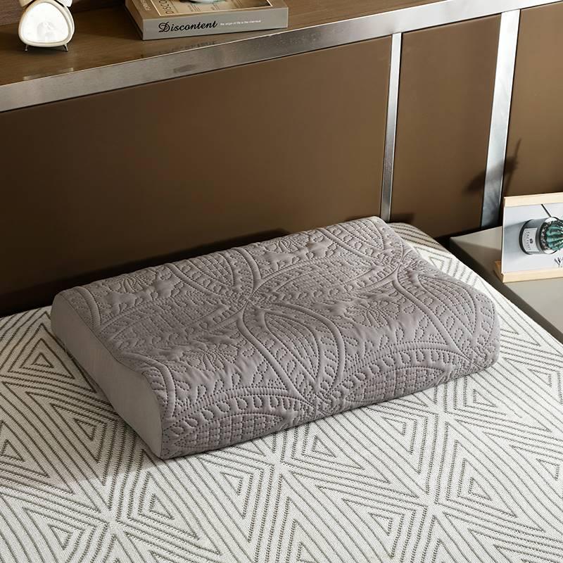 乳胶枕套防止枕芯发黄记忆枕头套60x40成人50X30防水全棉枕巾一对