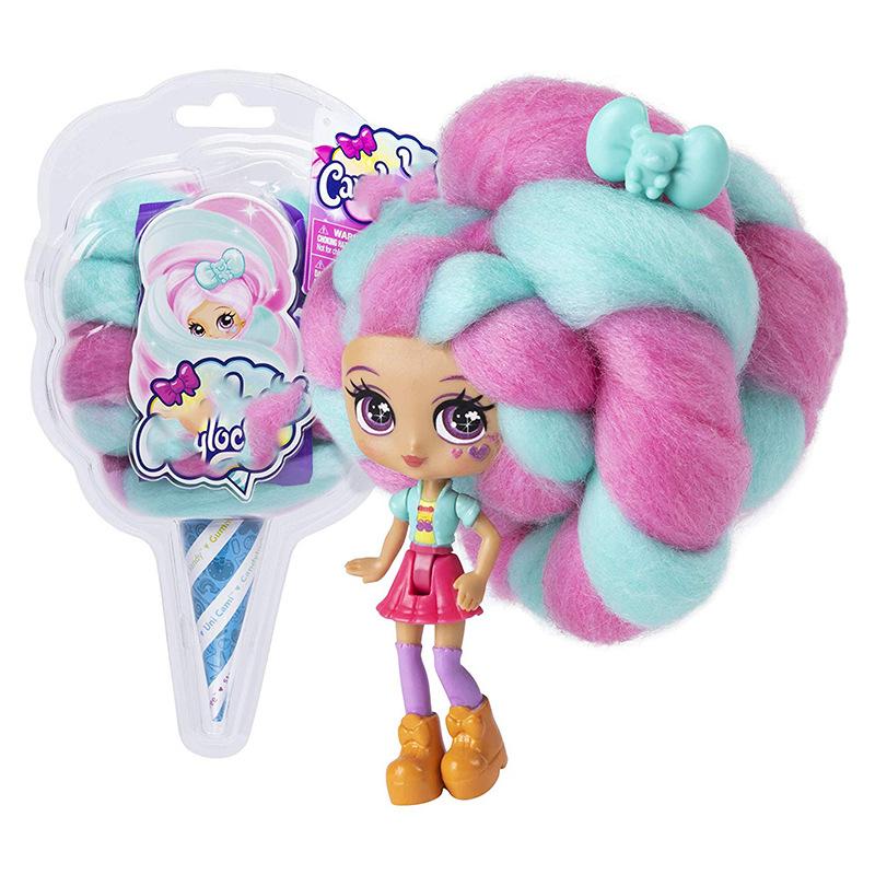 Candylocks棉花糖娃娃跨境爆款编发美发娃娃公仔盲盒