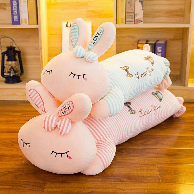 小兔子公仔毛绒玩具睡觉抱枕love兔布娃娃儿童玩偶生日礼物送女生