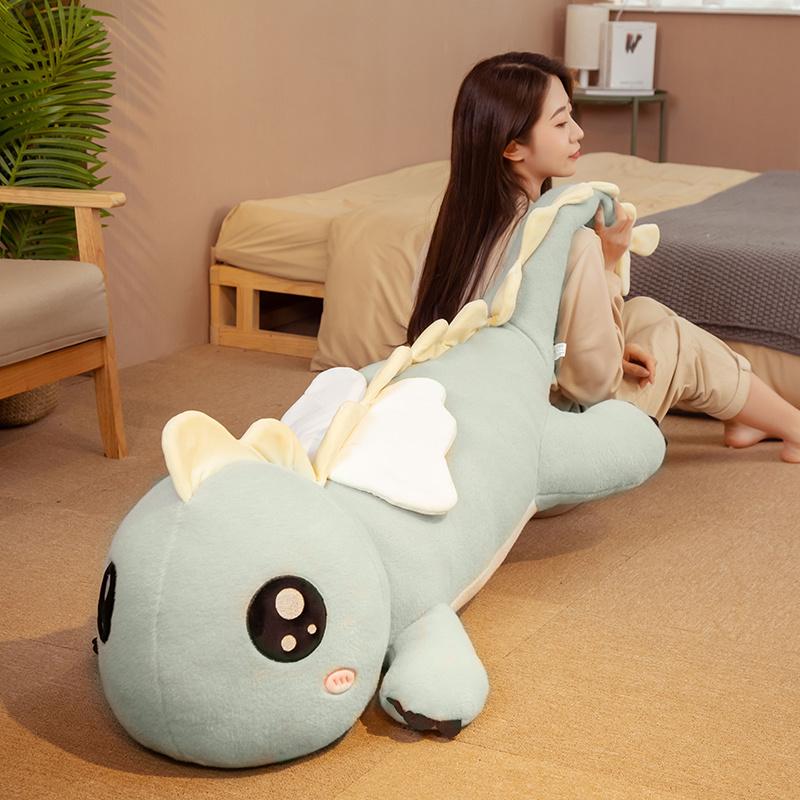 恐龙大公仔毛绒玩具玩偶床上睡觉抱枕夏季布偶娃娃女孩男女生款熊
