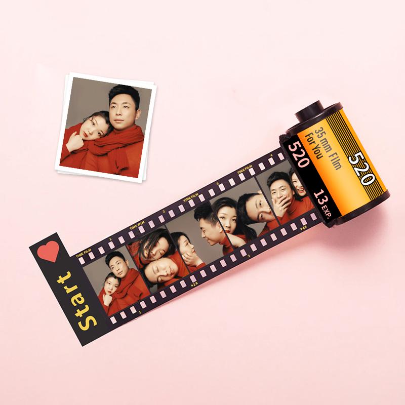 创意照片定制diy胶卷相册生日礼物情侣纪念父亲节礼物送男女友