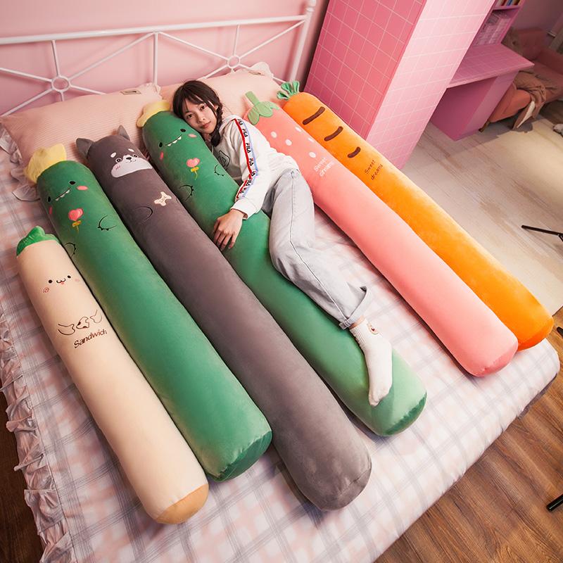 长条抱枕女生侧睡夹腿男生款神器睡觉抱专用床上可拆洗圆柱枕头