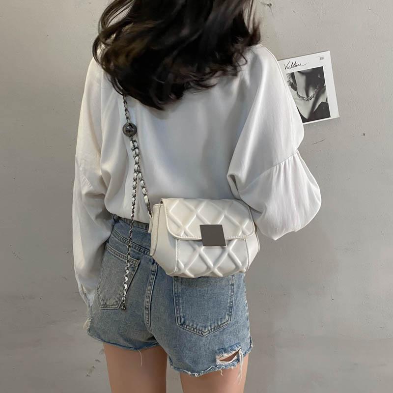 今年流行小包包女夏2021新款时尚百搭斜挎包高级感洋气迷你链条包