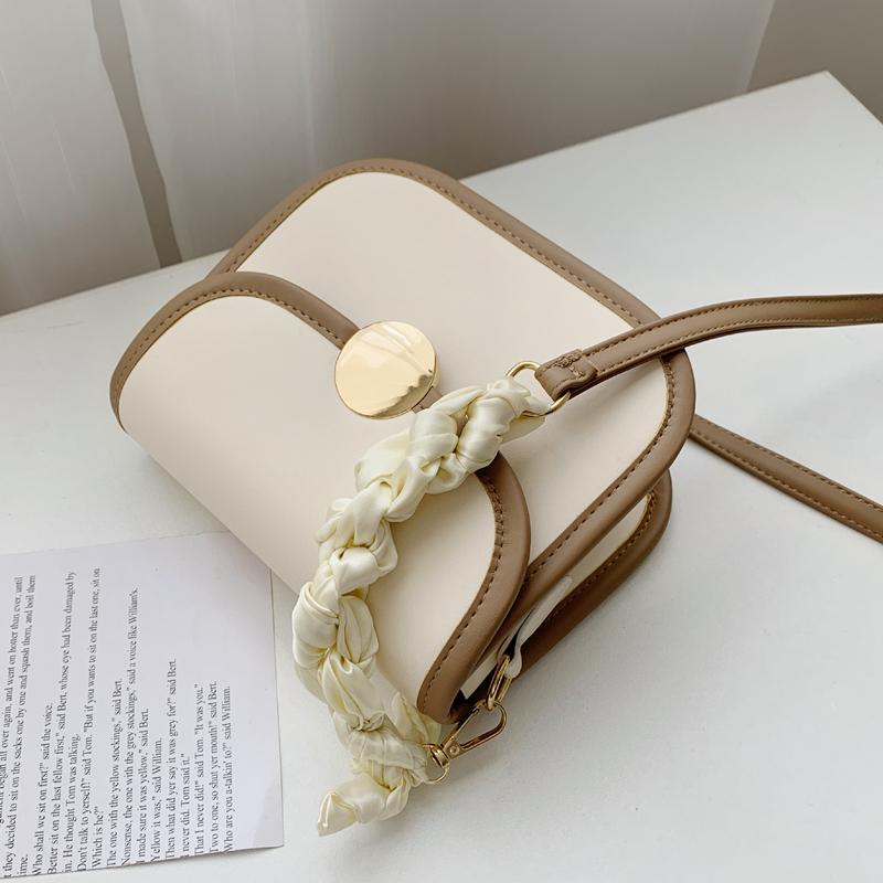 今年流行质感包包夏天2021新款潮马鞍包小众设计百搭斜挎包女小包