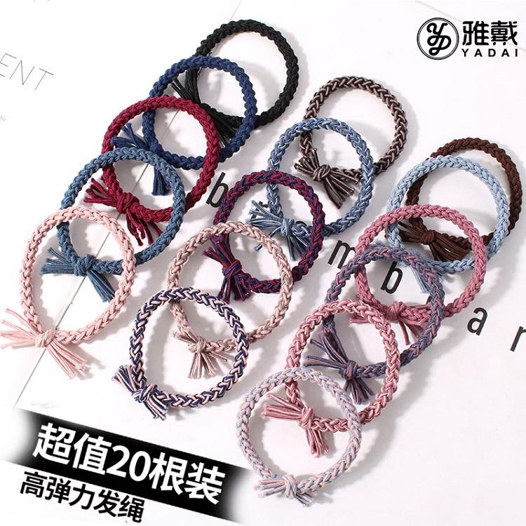 橡皮筋发圈女韩国可爱简约头绳小清新个性皮套2020新款发绳扎头发