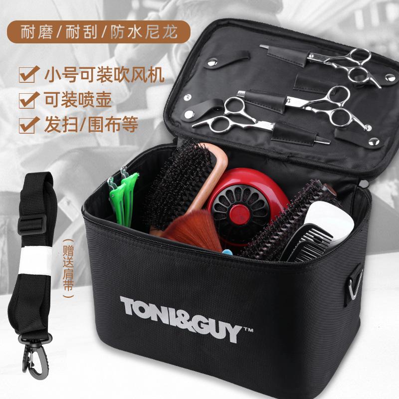 美发工具包托尼盖大号手提包多功能手提箱发型师专用吹风机斜跨包
